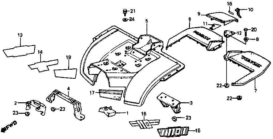 Scooter Vacuum Diagram