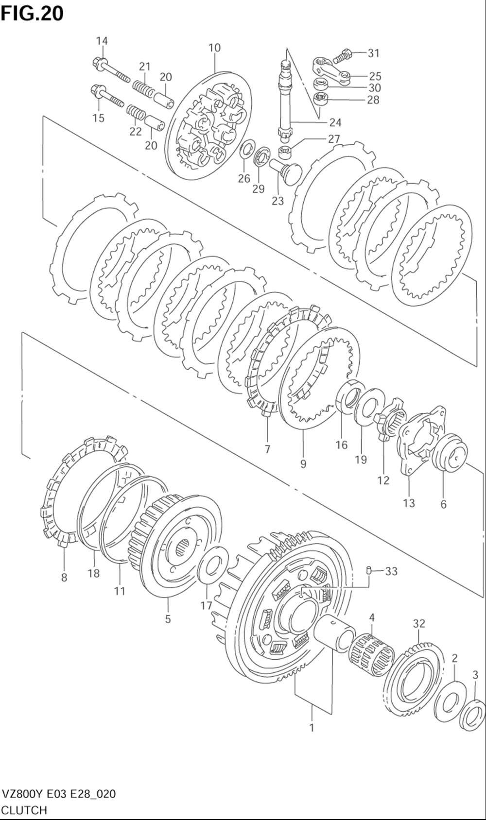 2001 suzuki volusia 800 parts