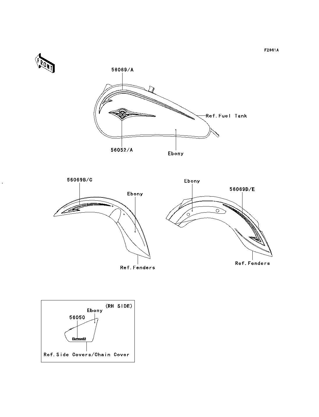 ebonies trubice