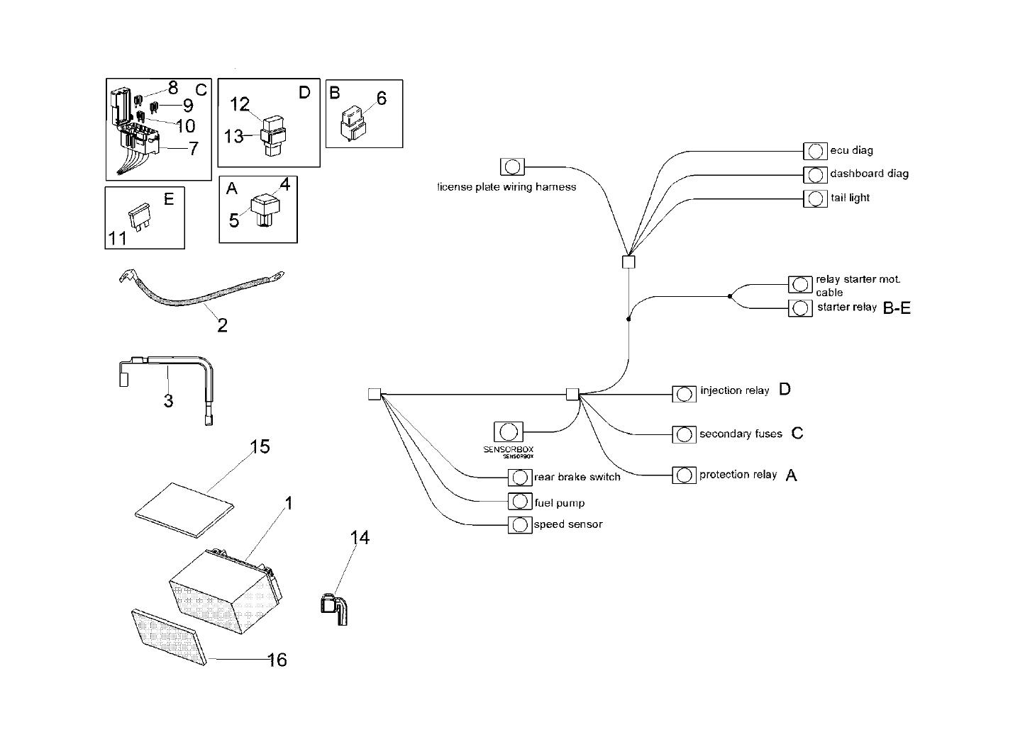 Tuono 1100 V4 Factory 2017 Originln Nhradn Dly Aprilia Wiring Diagram Model