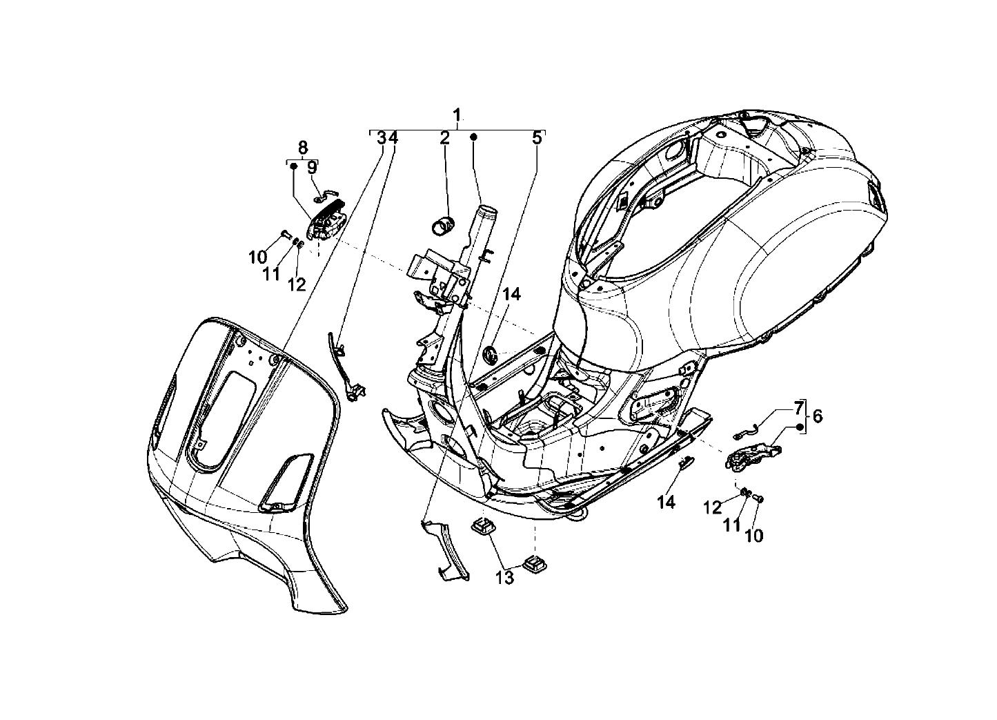 1974 150 Super Vespa Wiring Diagram Diagrams Instructions Gts 300 2008 2016 Origin Ln N Hradn D Ly 2 Tone Vespas